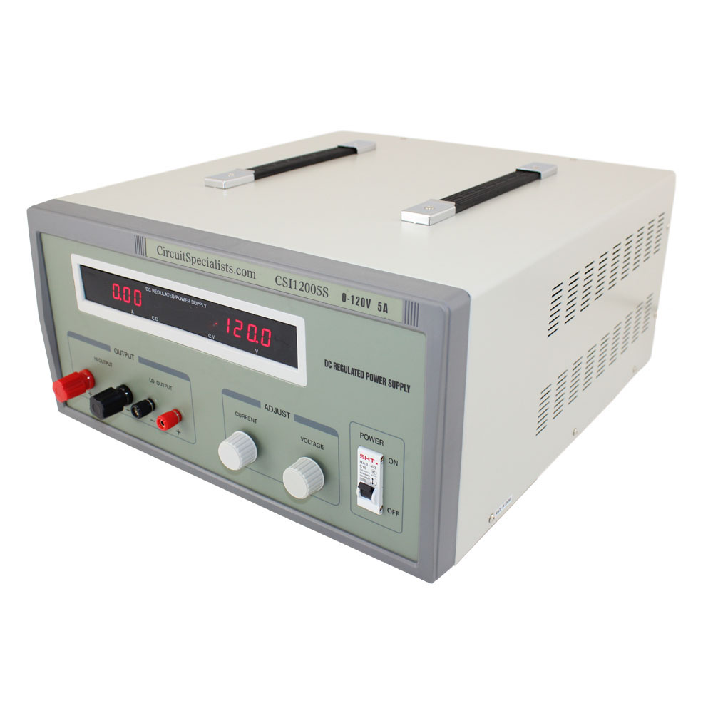LINEAR 0-120V 0-5A DELUXE BENCH POWER SUPPLY