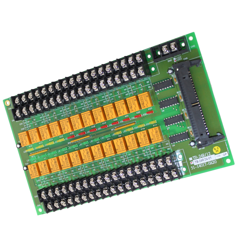 24 RELAY OUTPUT CARD/24 V COIL