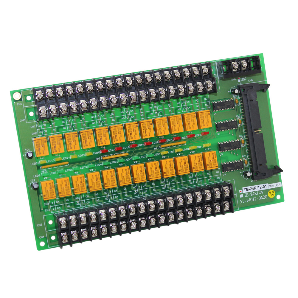 24 RELAY OUTPUT TERMINAL BOARD