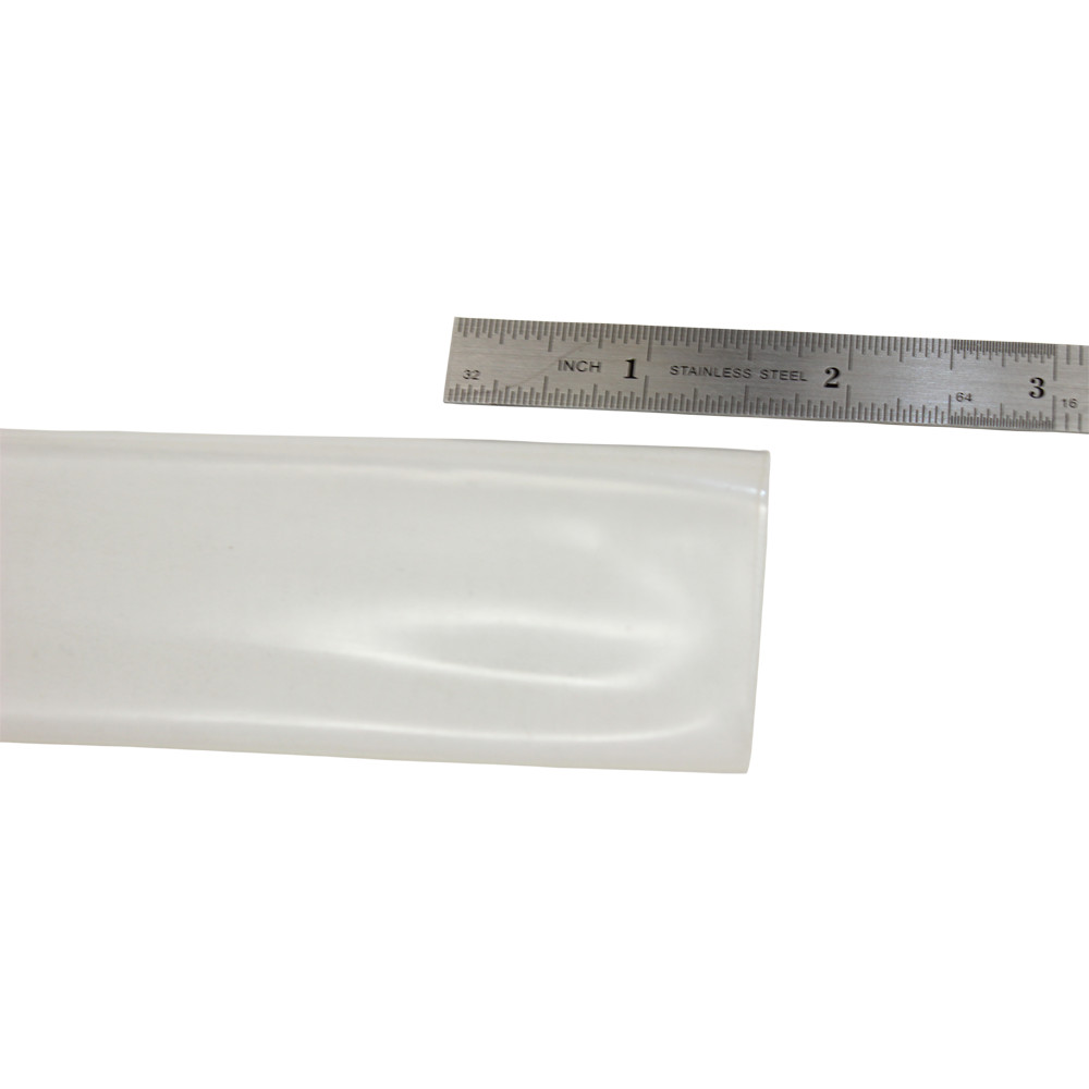 CLEAR HEAT SHRINK 4 FT LENGTH 25MM THIN WALL