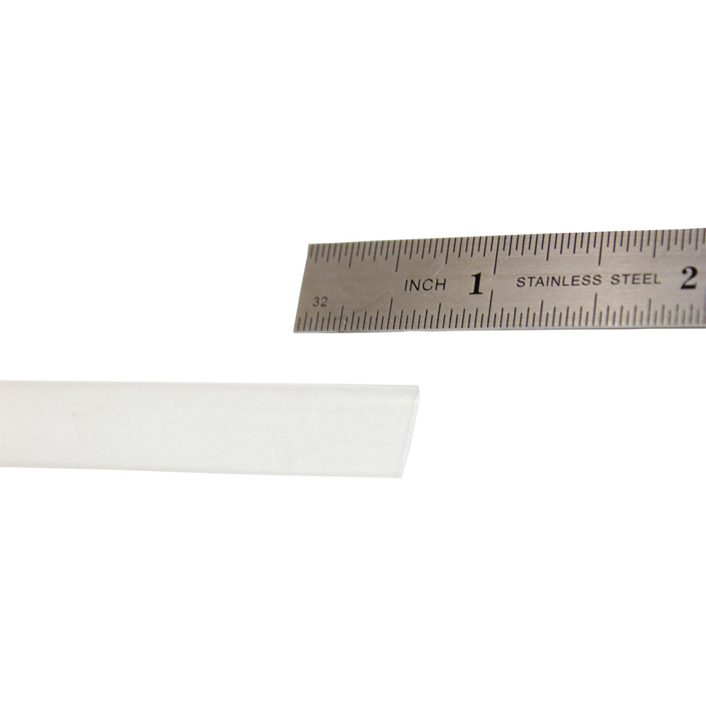 HEAT SHRINK CLEAR 4 FT LENGTH 7MM THIN WALL