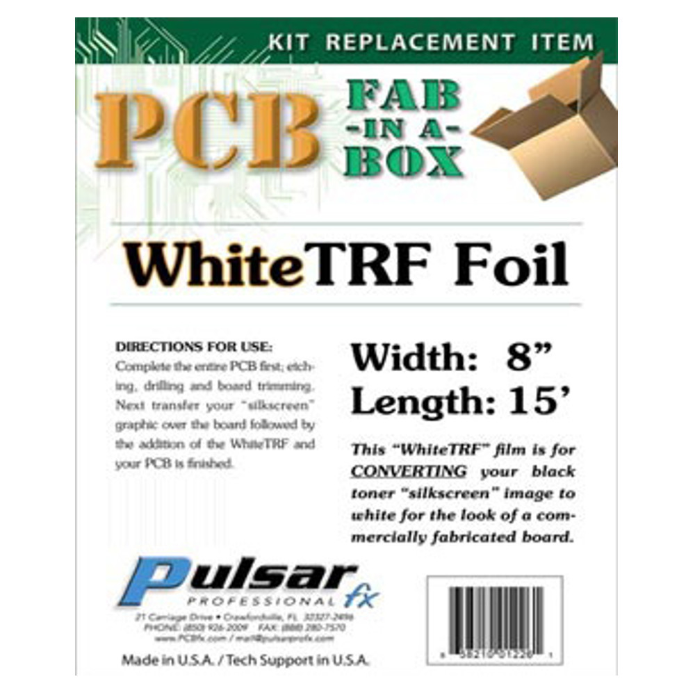 TONER REACTIVE FOIL WHITE ROLL
