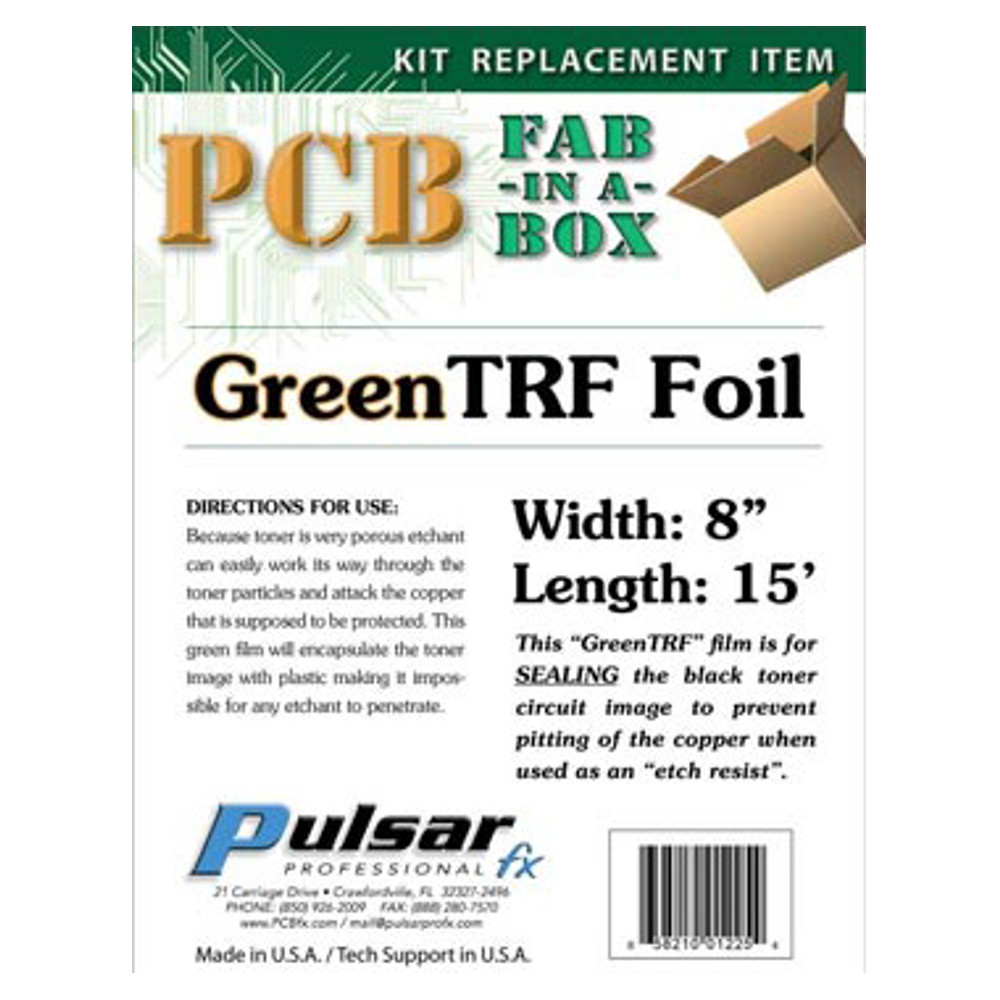 TONER REACTIVE FOIL GREEN ROLL