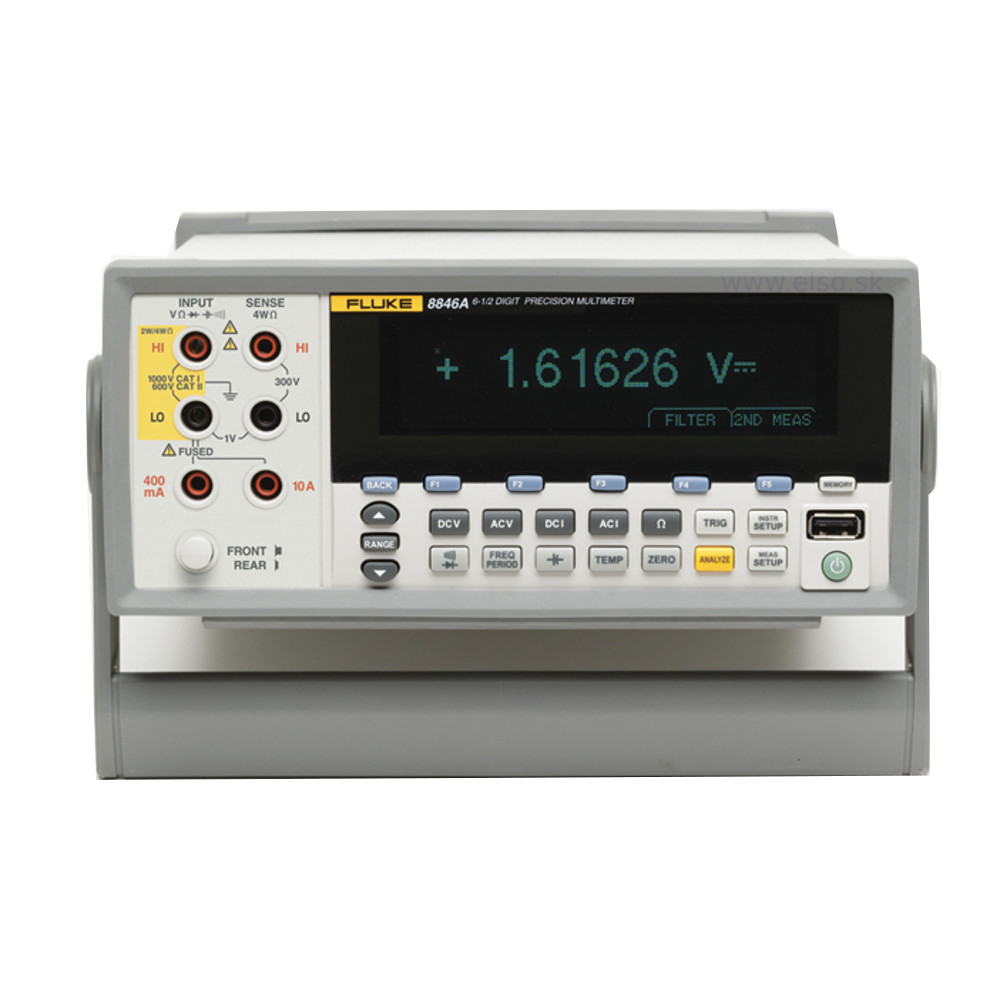 New 65 Digit Precision Bench Digital Multimeter Fluke 8845a The Voltmeter Accuracy Of This Schematic Is Limited