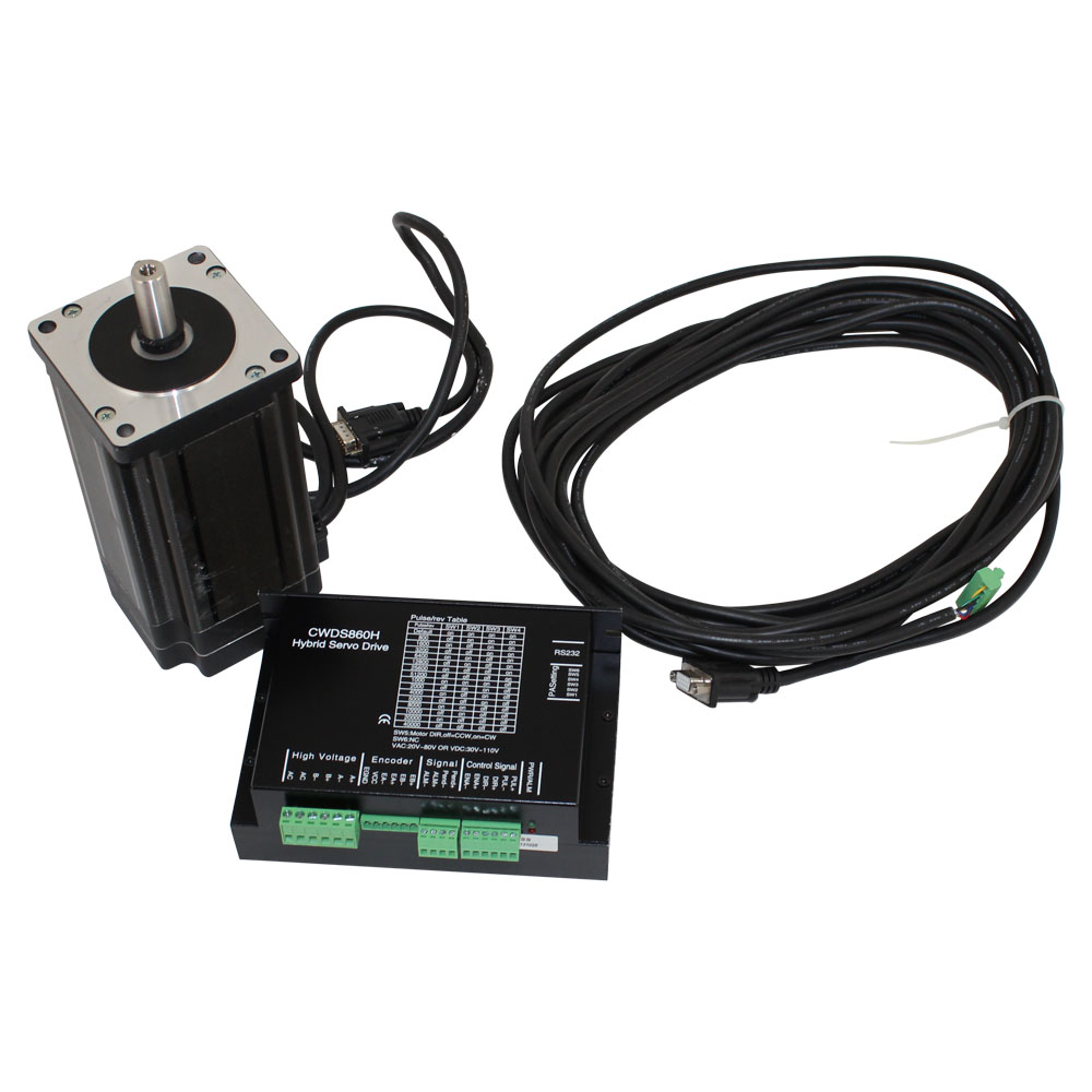 Closed loop set 86bhh76 step motor with cwds860h driver for Stepper motor holding torque calculator