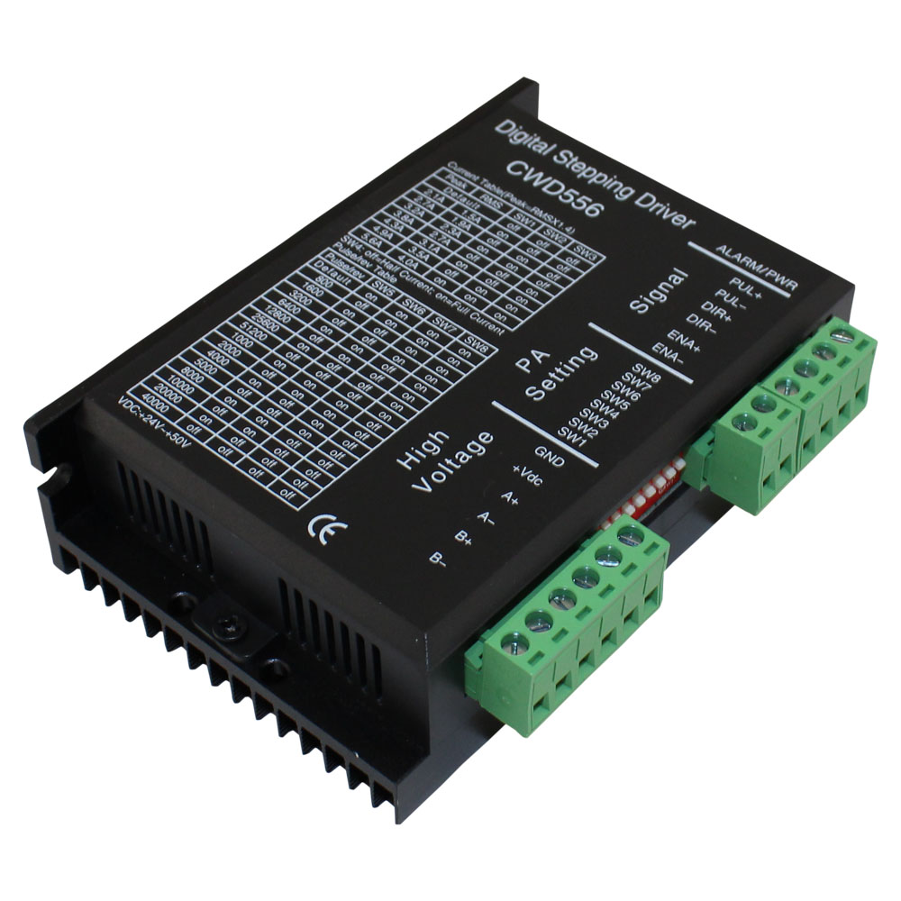 Cwd556 stepping motor driver for Stepping motors and their microprocessor controls