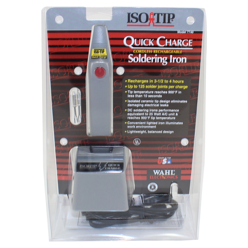 ISO-TIP 25 Watt Quick Charge Soldering Iron