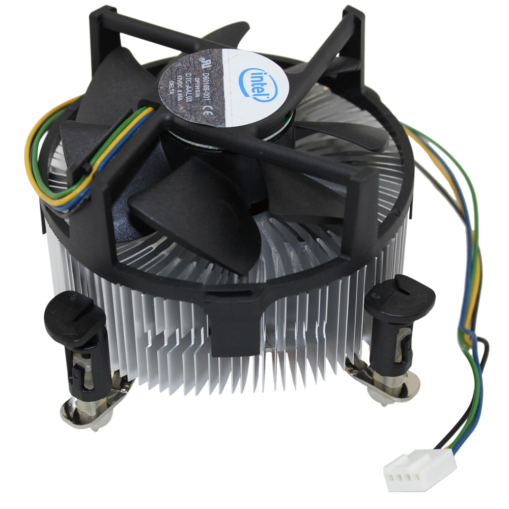 D60188 001 Heat Sink Cooling Fan Assembly For Intel Socket 775 Cpu 4 Pin Computer Wire Diagram