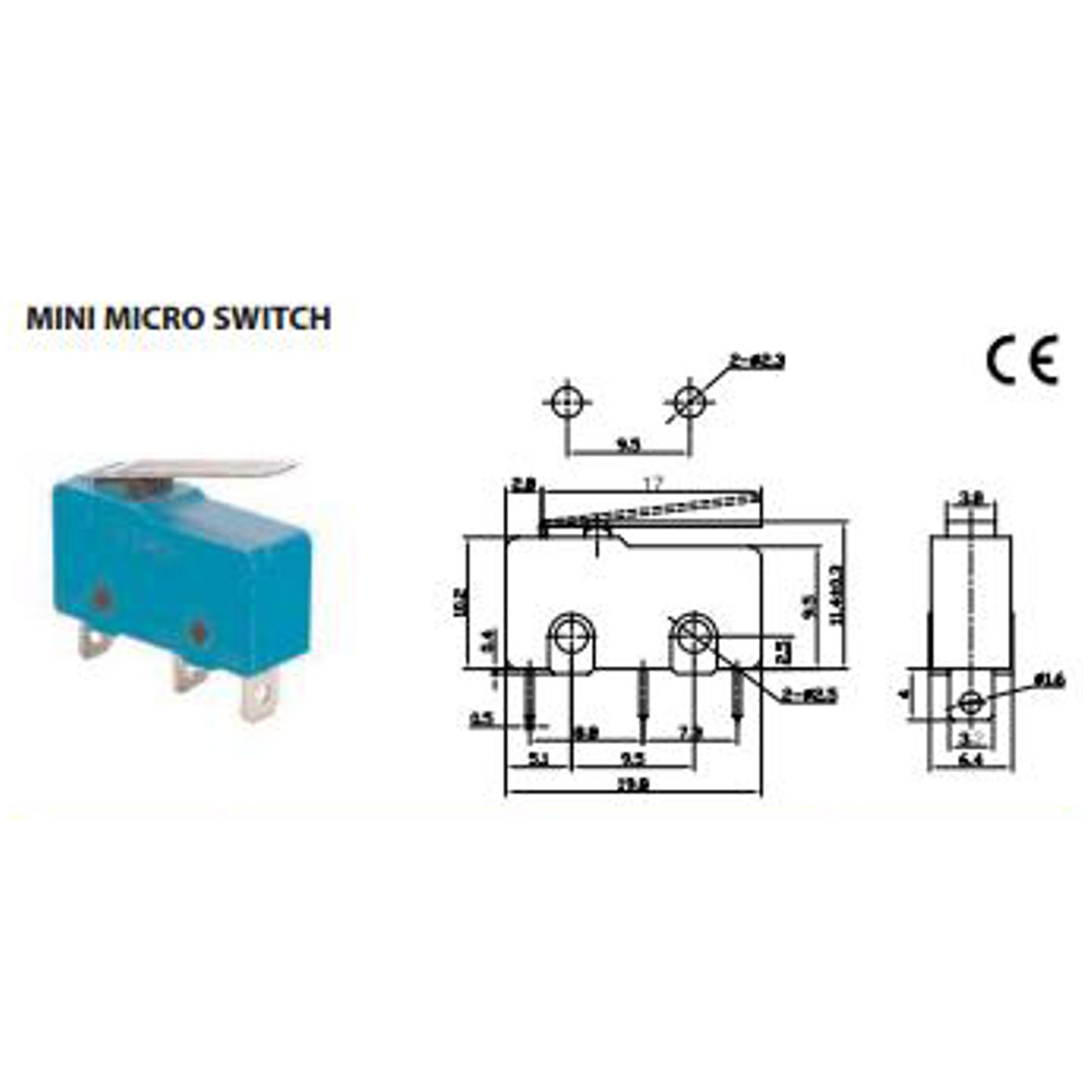 Miniature Micro Switch No Nc On 66 4011 Diagram