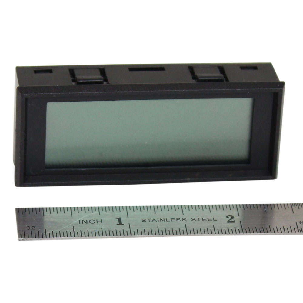 Miniature LCD Digital Panel Meter - 5V Common Ground