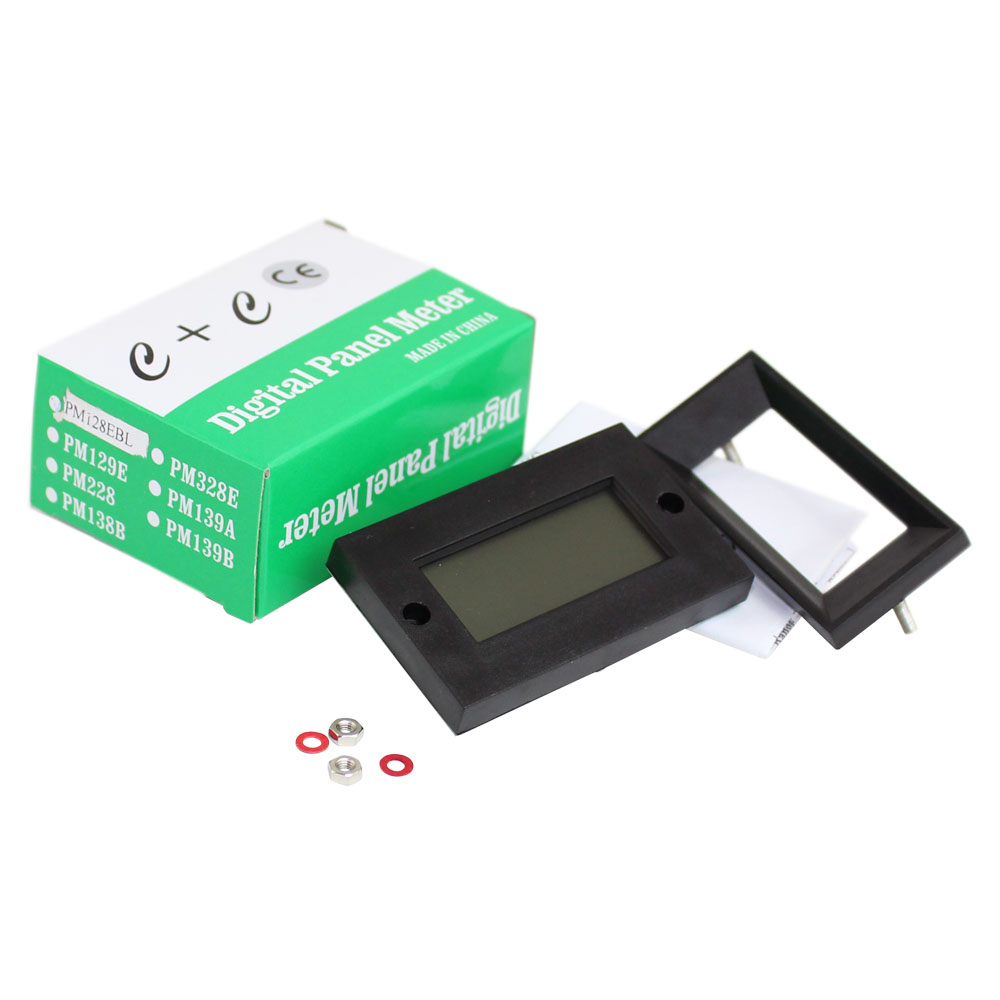 3-1/2 Digit Backlit LCD Panel Meter - Isolated or Common Ground