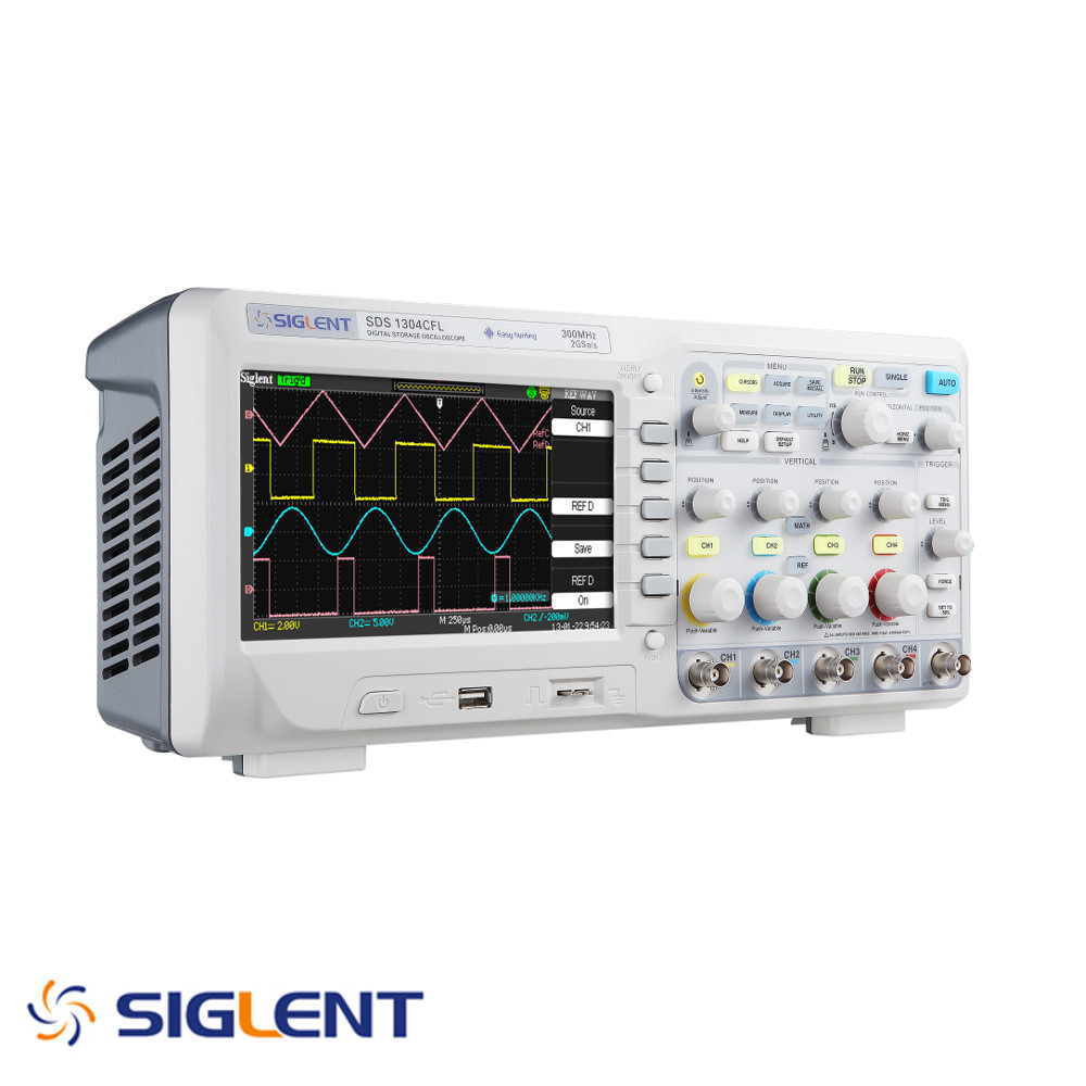SIGLENT 300 MHZ DIGITAL STORAGE OSCILLOSCOPE