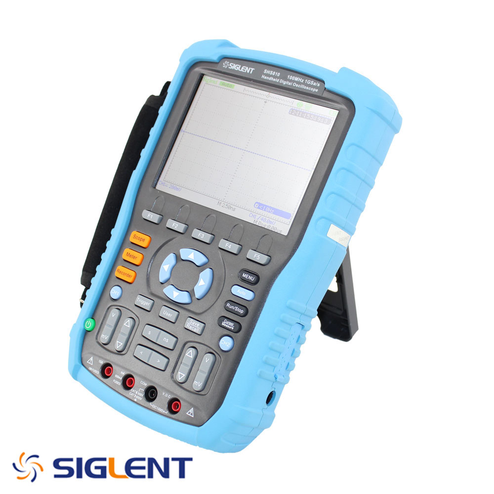 SIGLENT HANDHELD SCOPE METER, 100 MHZ, 1GSA/S REAL TIME SAMPLE RATE. DMM FUNCTIONS. ON SALE !