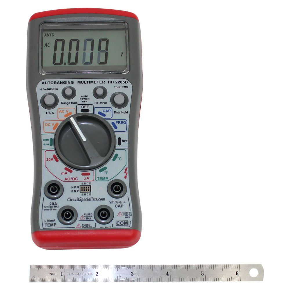 True-RMS Autoranging Digital Multimeter