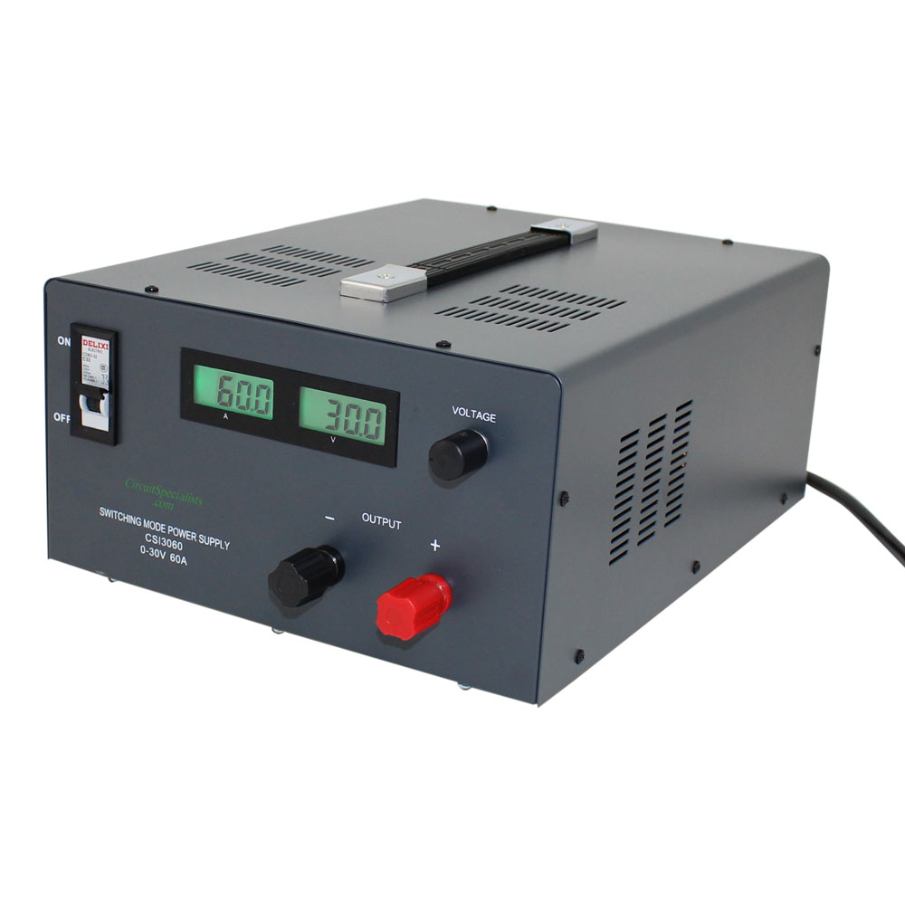 0-30V/0-60A SWITCH MODE BENCH POWER SUPPLY