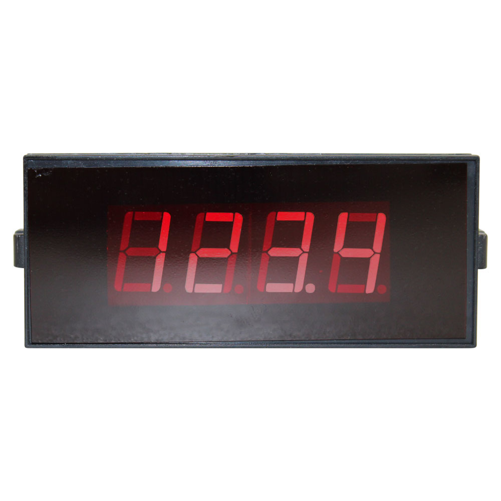 3-1/2 Digit LED Digital Panel Meter - 9V Common Ground, Sealed Enclosure