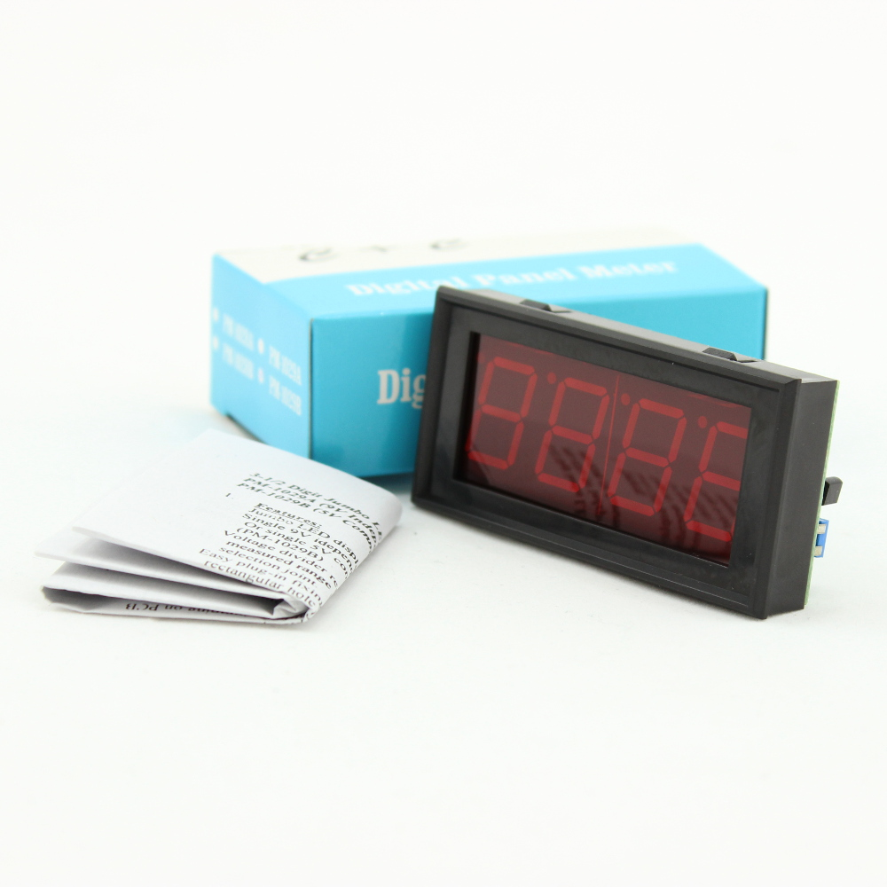 LED Digital Panel Meter - 9V Independent Power Supply