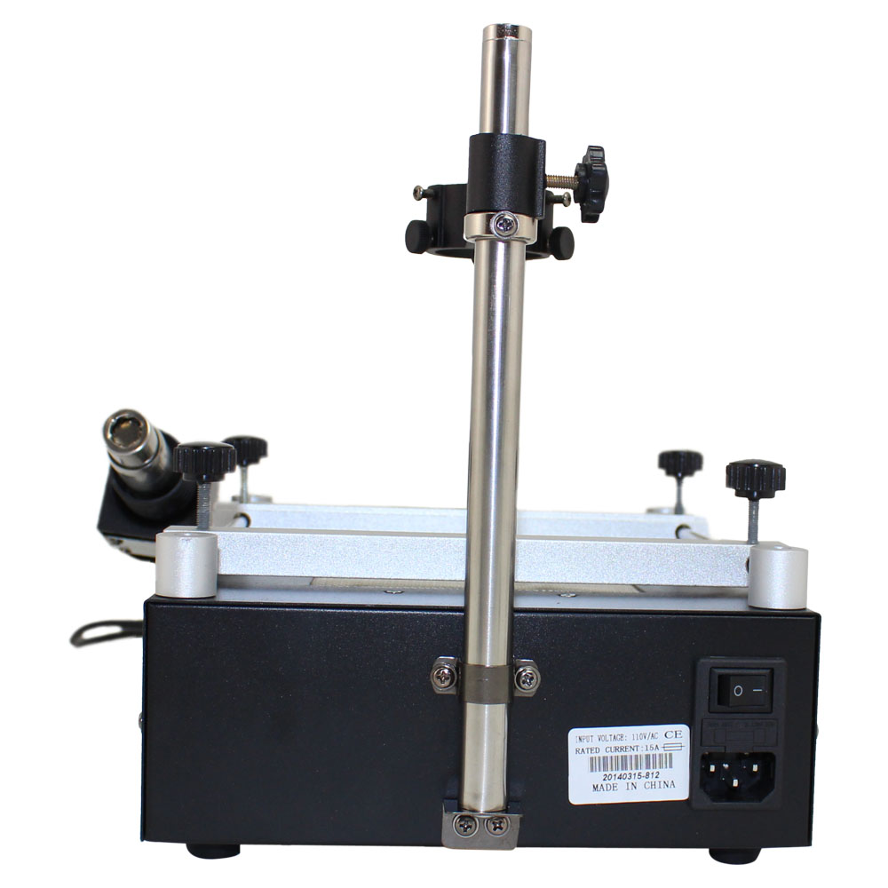 PCB Preheater and Desoldering System with Hot Air Gun