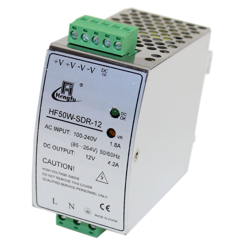 12 volt 4 2 amp din rail power supply