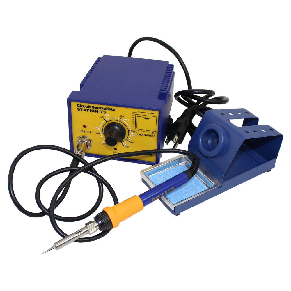 75 WATT SOLDERING STATION W ROTARY CONTROLS