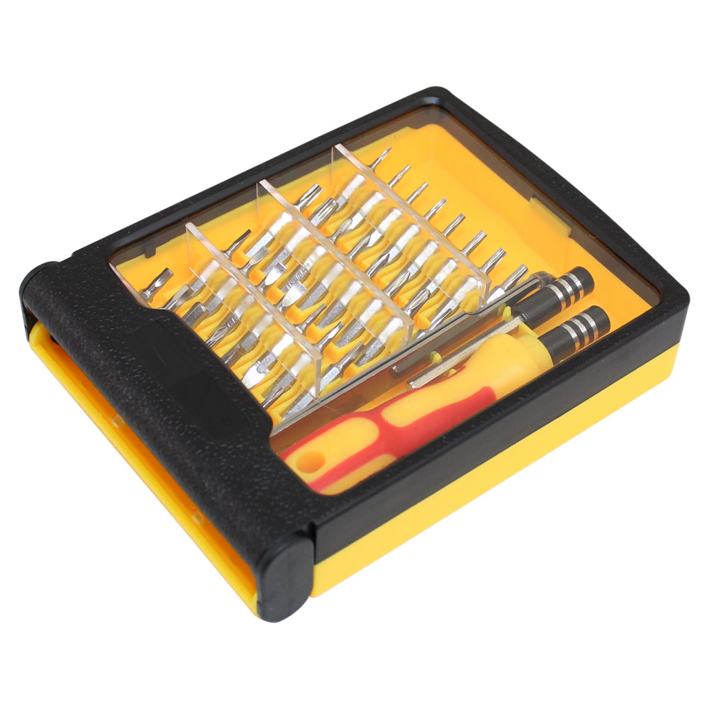 33 PC SCREWDRIVER SET IN ORGANIZER CASE