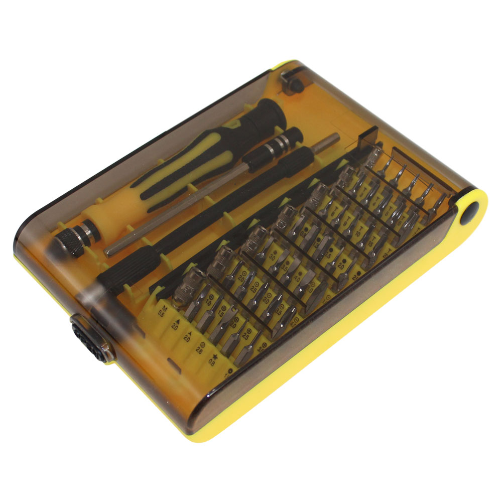 45 PCS SCREWDRIVER SET IN PLASTIC ORGANIZER