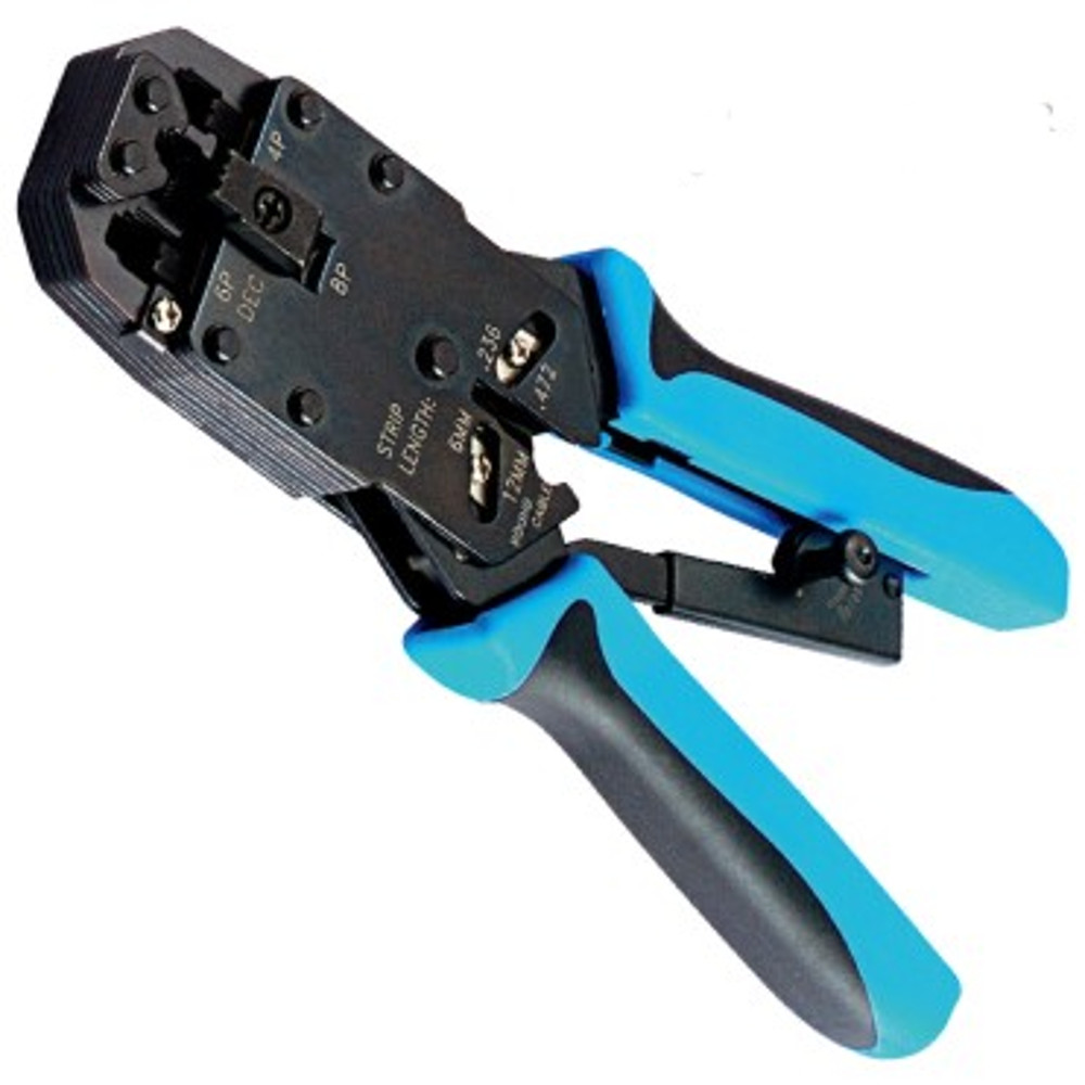 Professional Modular Crimp, Strip & Cut Tool