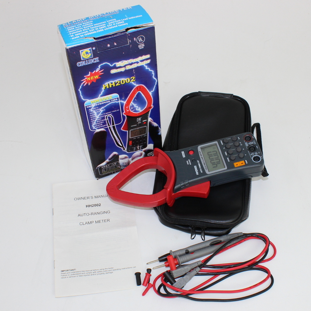Pro Series DC/AC True-RMS Clamp-On Ammeter/Multimeter