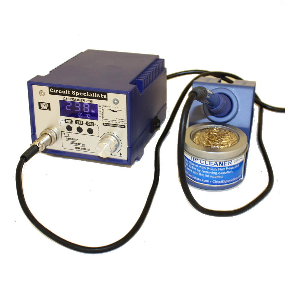 PROGRAMMABLE 75 WATT SOLDERING STATION