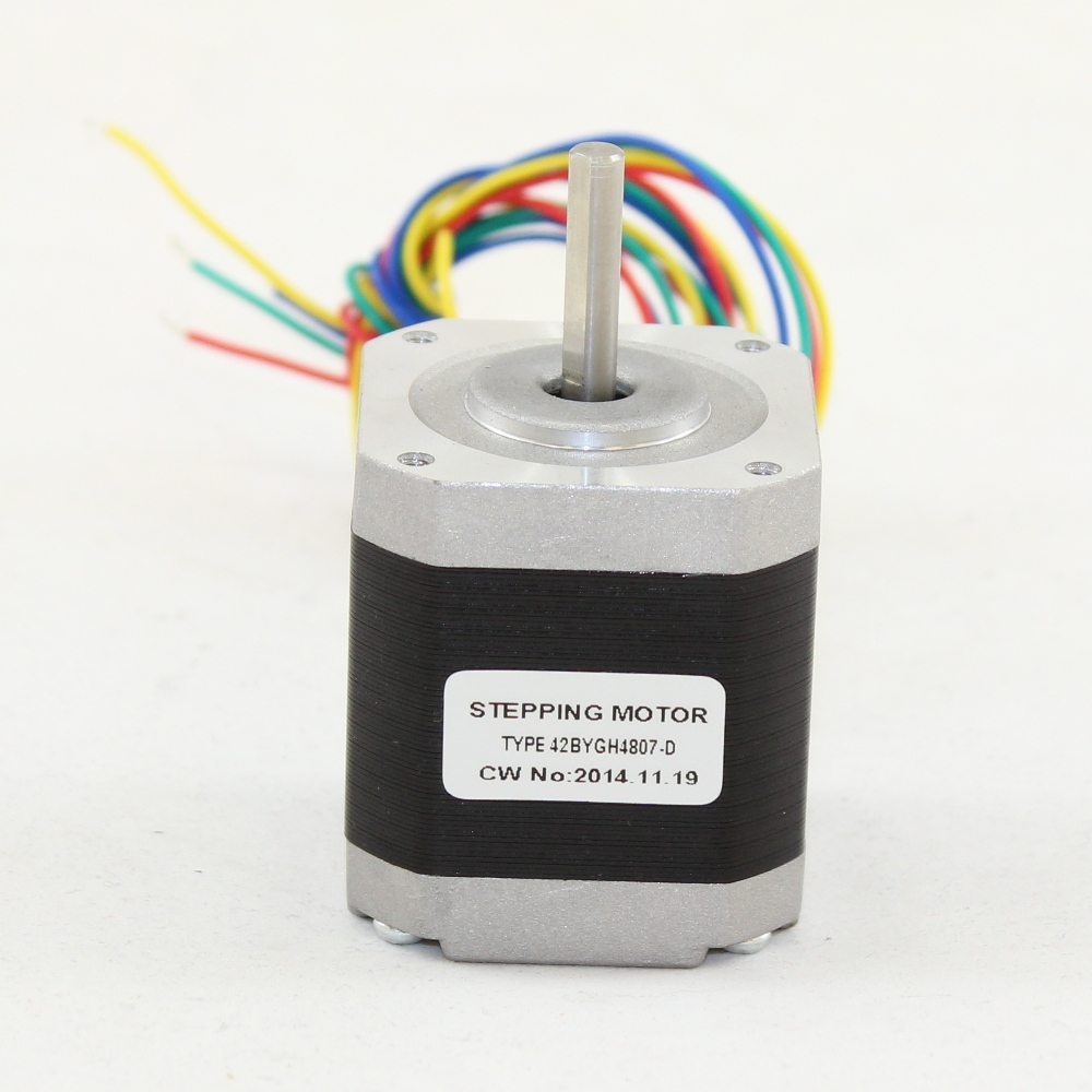 STEPPER MOTOR WITH D SHAFT
