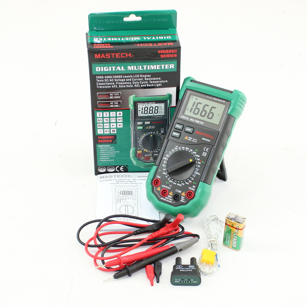 Csims8264 Low Price Digital Multimeter With Temperature Probes K Thermocouple Interface Circuit Multi Function