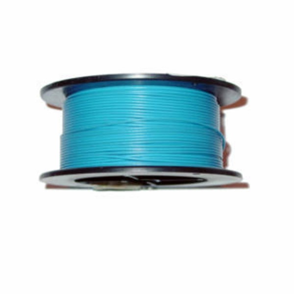 100' 18AWG SOLID HOOK-UP WIRE, BLUE