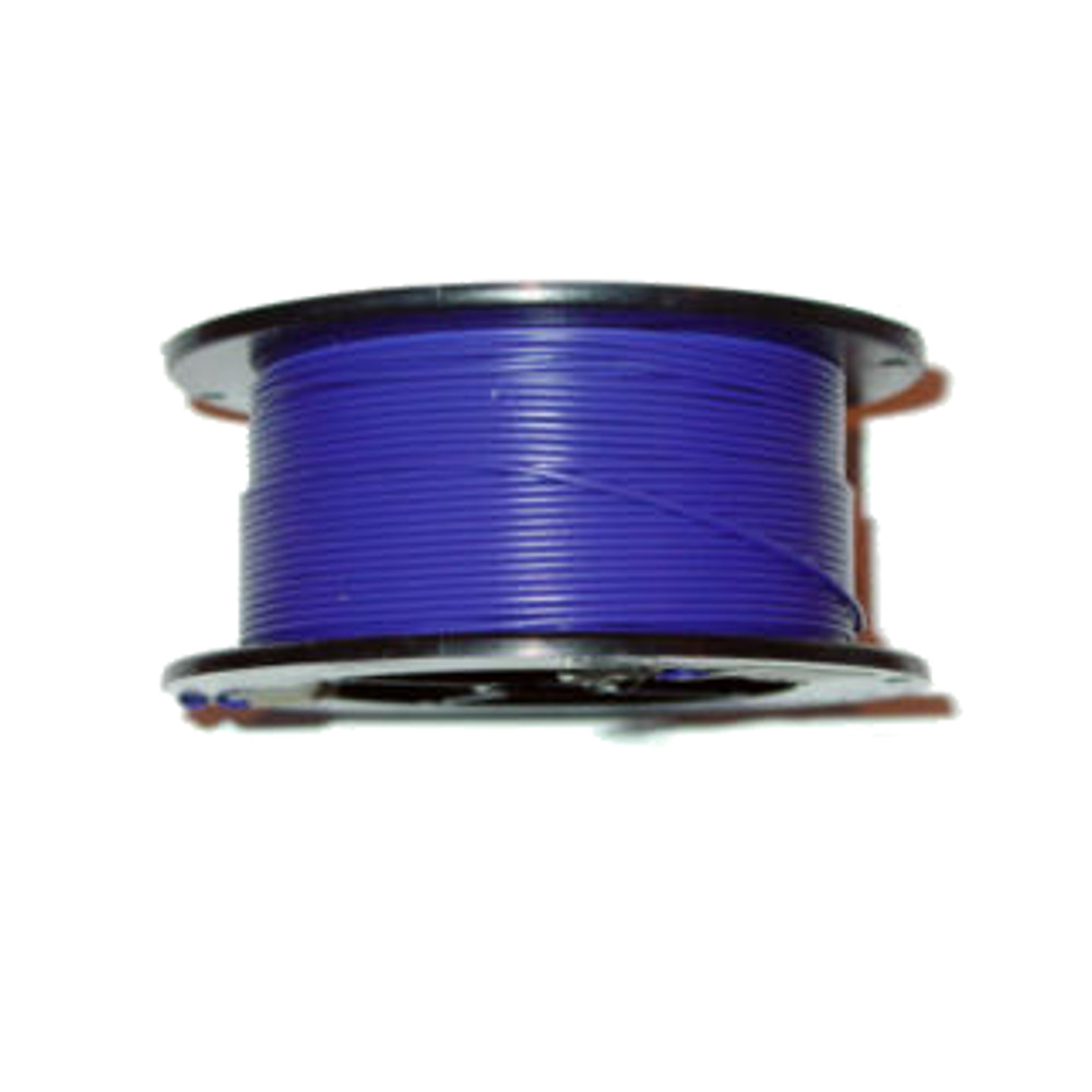 100' 18AWG SOLID HOOK-UP WIRE,VIOLET