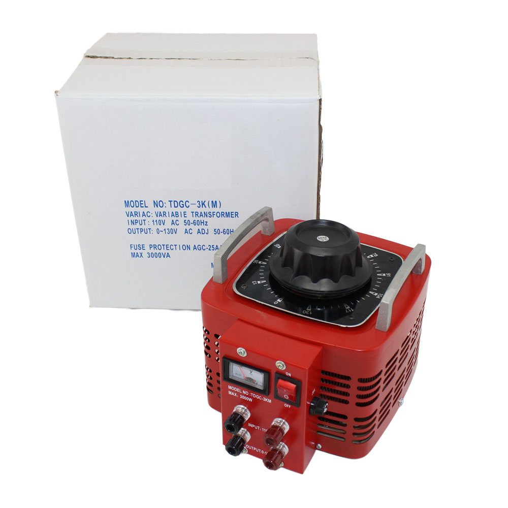 Variable Autotransformer with 30 Amp Max Output