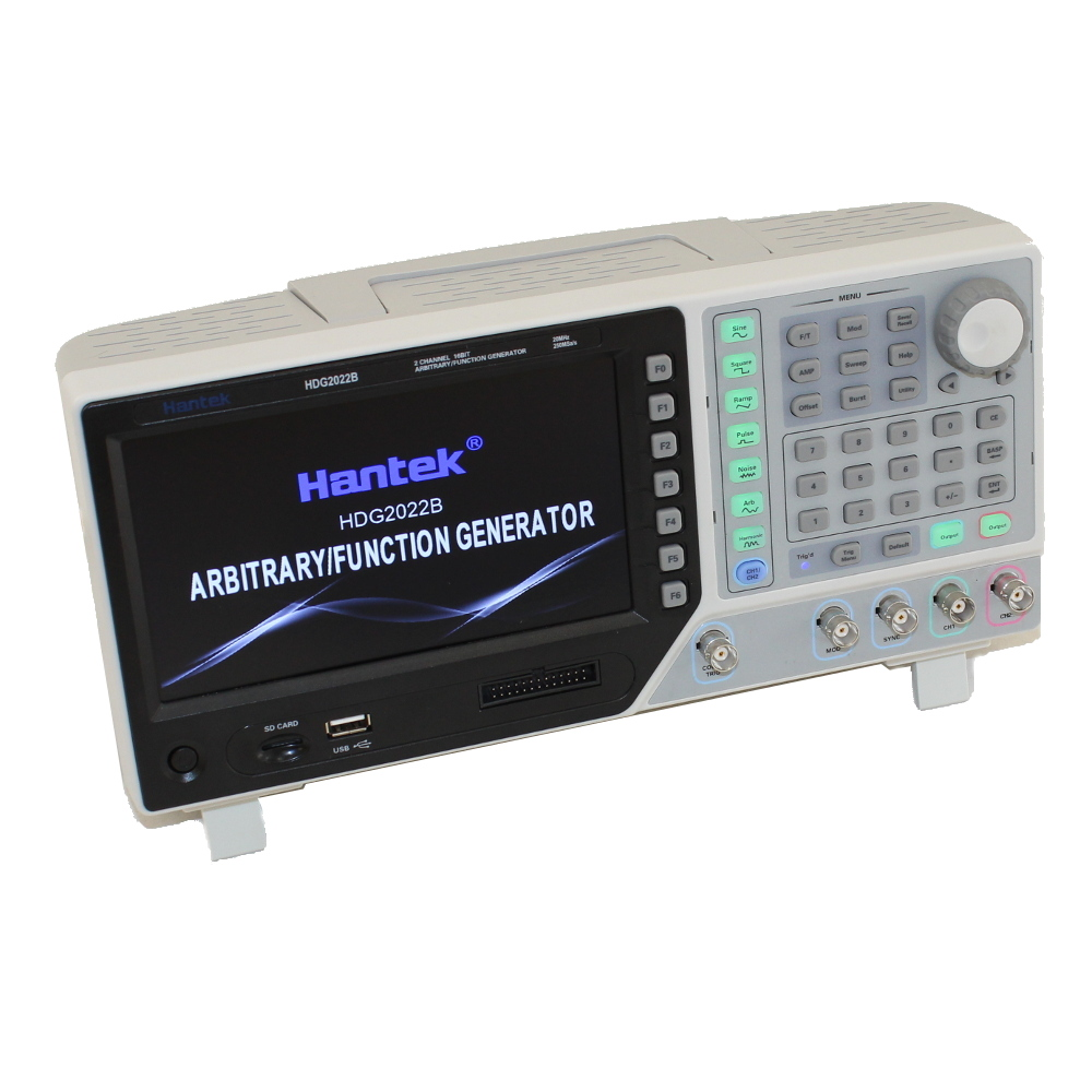 Hantek HDG2032B 30MHz Arbitrary Waveform Generator with Large True Color Screen & 16-Bit Resolution