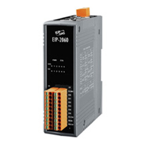 ISOLATED 6 CHANNEL DI AND 6 CHANNEL RELAY OUTPUT ETHERNET/IP I/O MODULE,