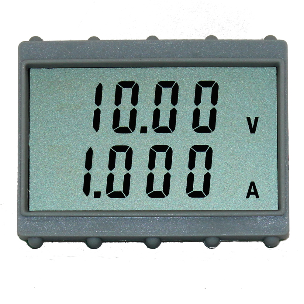 3 1/2 Digit Dual Display LCD Panel Meter