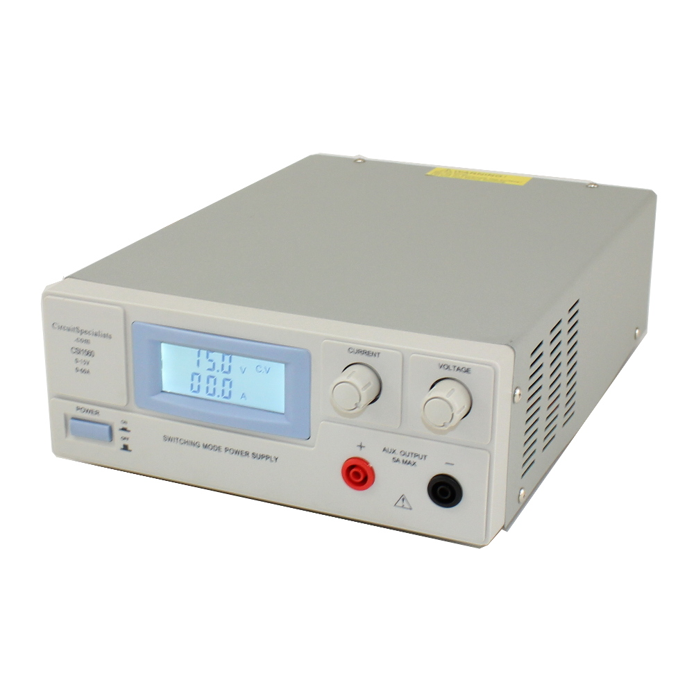 0-15V/0-60A SWITCHING BENCH POWER SUPPLY