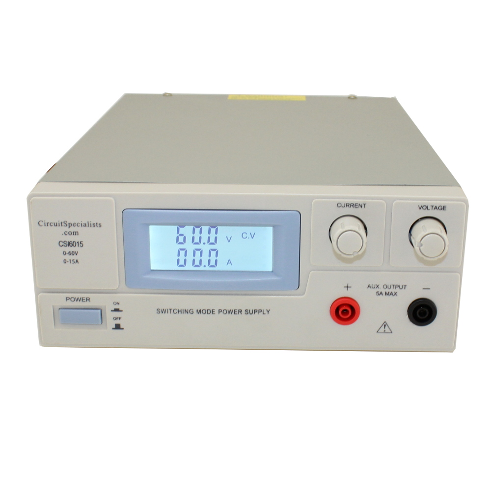 60 Volt DC 15.0 Amp High Output Switch Mode Power Supply
