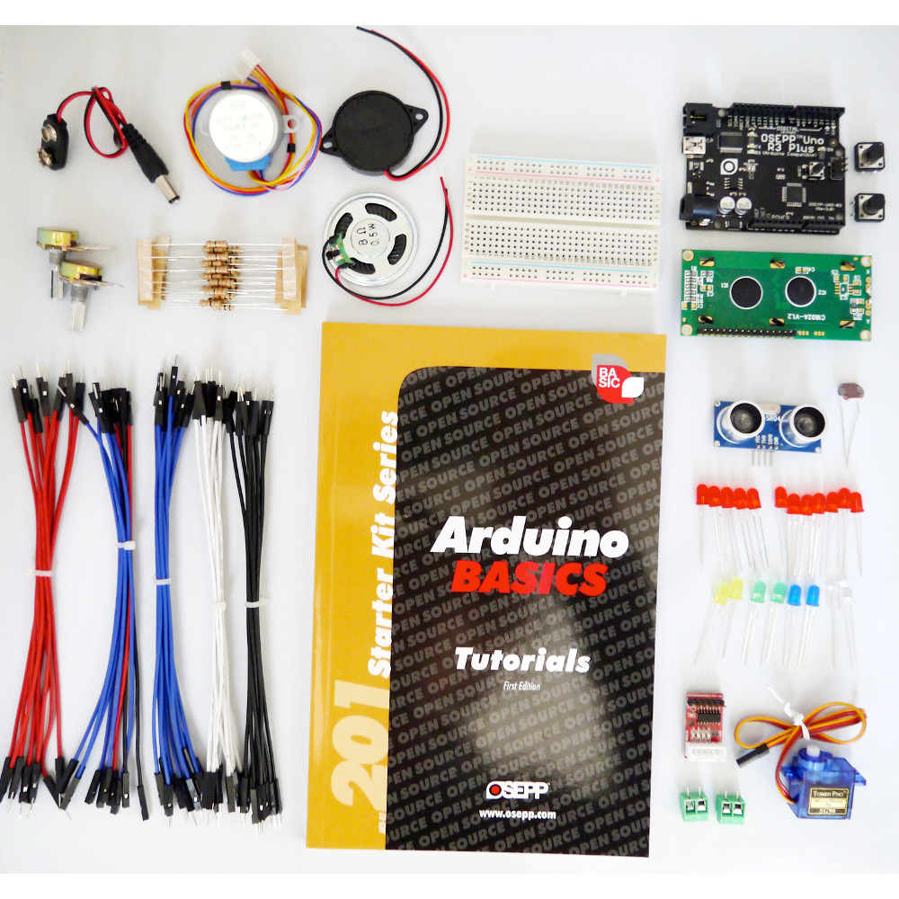 201 ARDUINO BASICS STARTER KIT WITH UNO-03