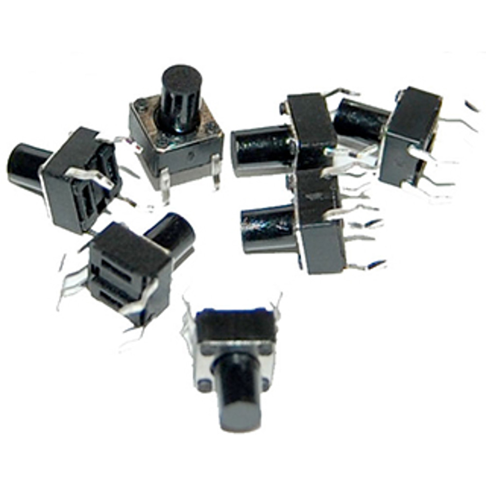 MINI PUSH BUTTON SWITCH (25 PACK)