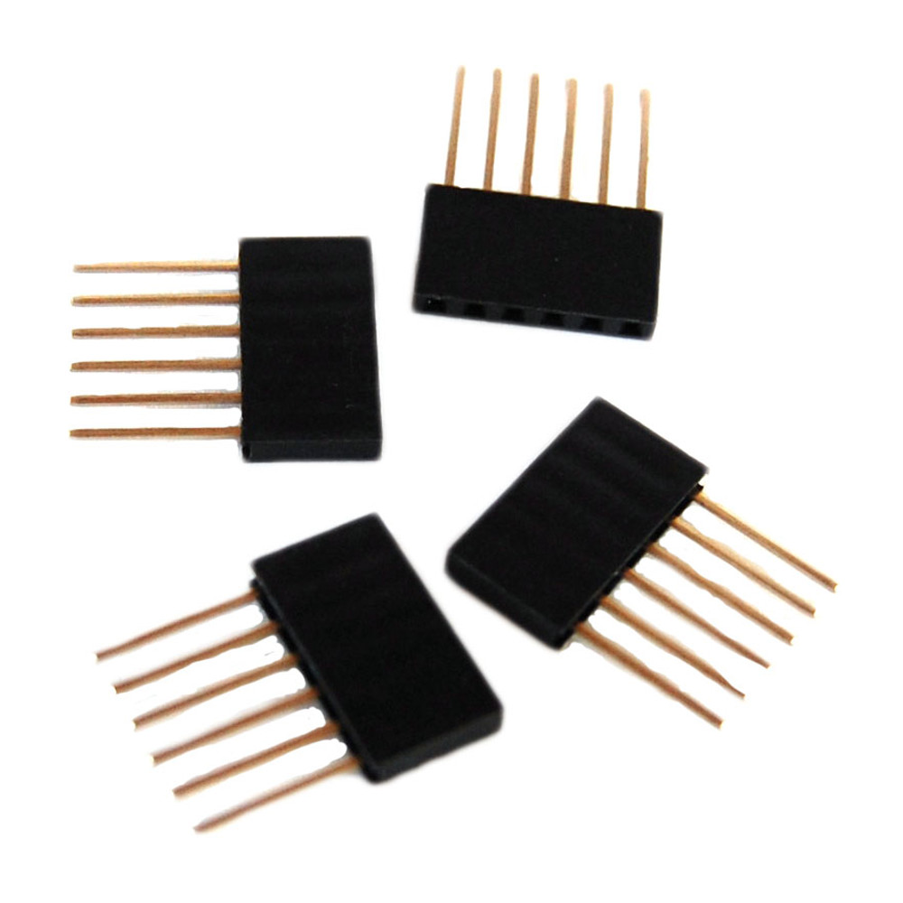 ARDUINO STACKABLE HEADER - 6 PIN (4 PACK)