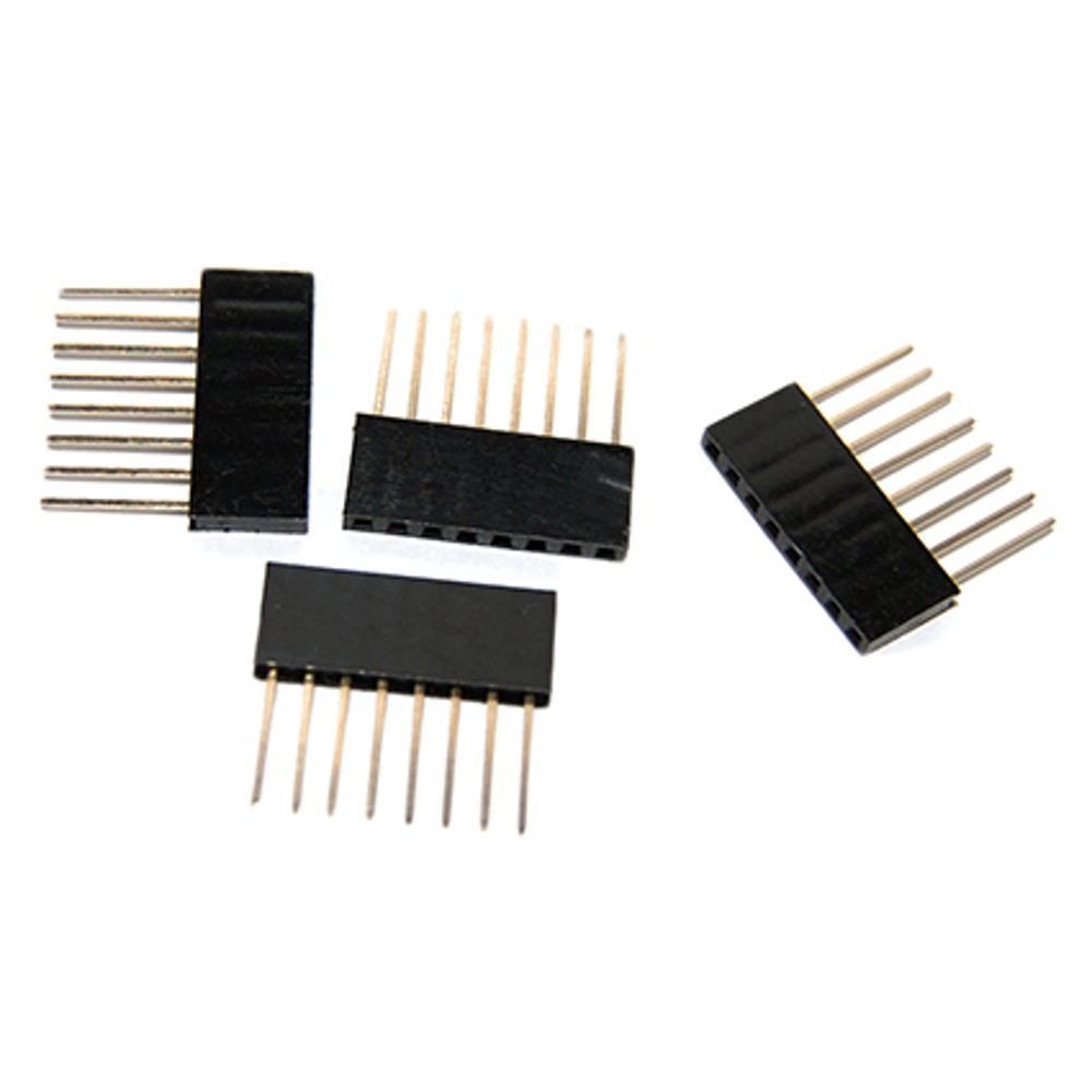 Arduino Stackable Headers - 8 pin (4 pack)