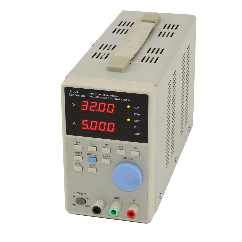 PROGRAMMABLE POWER SUPPLY  PPS2116A