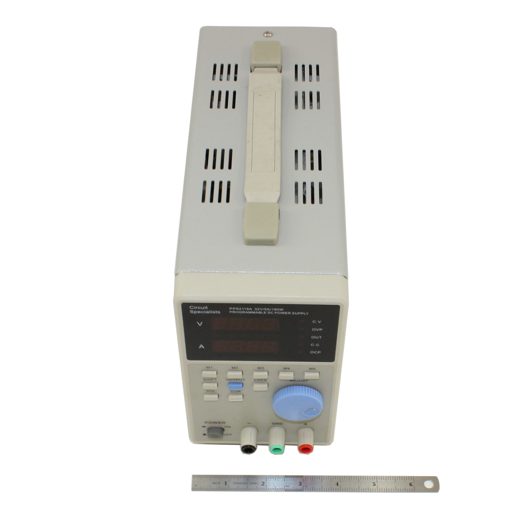 32 Volt DC 5.0 Amp Programmable Linear Power Supply