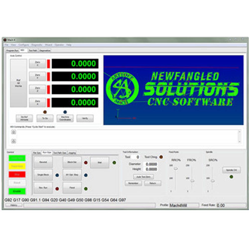 Mach4-Hobby CNC machine Controller Software License