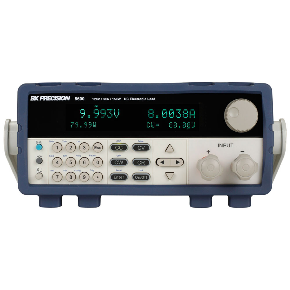 B&K 8600 Programmable DC Electronic Load