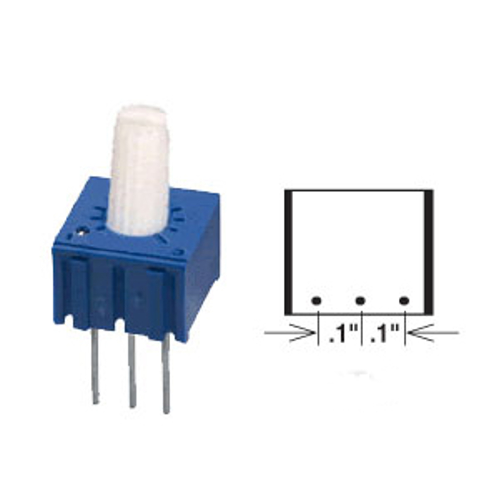 50K Ohm 1/2 Watt Cermet Potentiometer