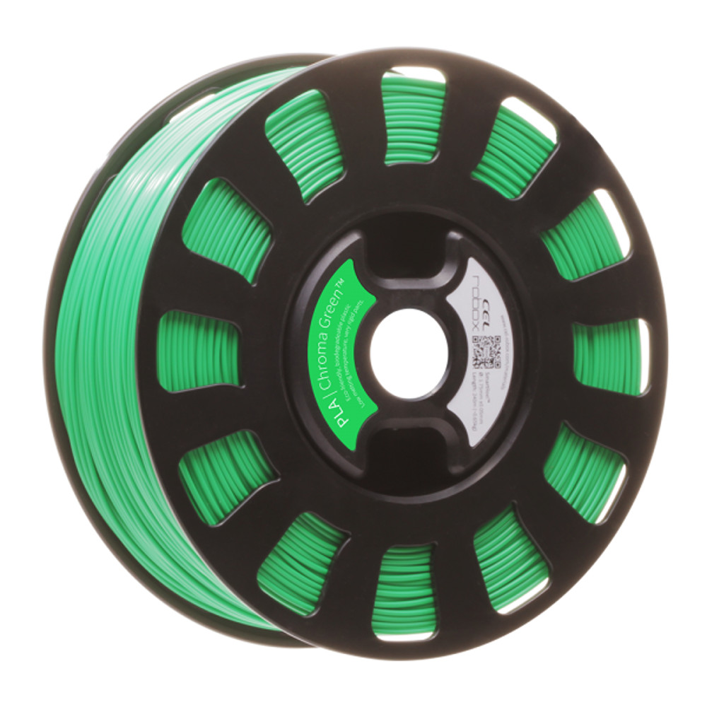 ROBOX PLA FILAMENT - CHROMA GREEN