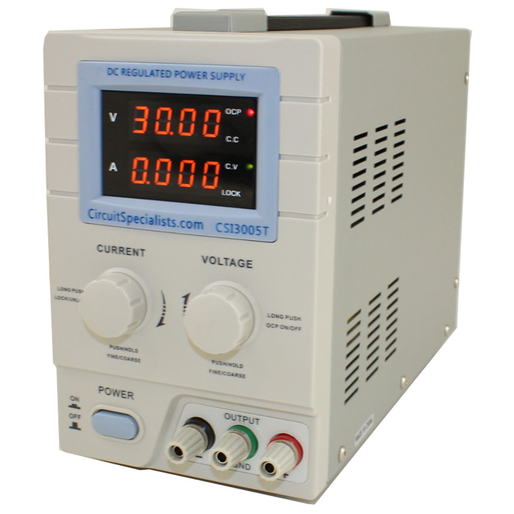 0-30V - 0-5A Linear Bench Power Supply